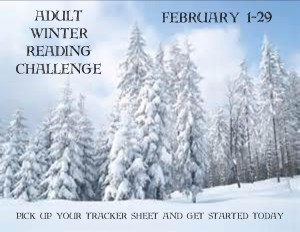 Adult Winter Reading Challenge slide